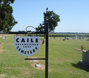 Caile, Mississippi - Image: Caile Cemetary 3