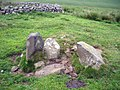 Cairn and sheepfold on Howden Hill - geograph.org.uk - 1091012.jpg