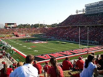 Louisiana–Lafayette Ragin' Cajuns football - Cajun Field on gameday.