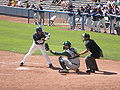 Cal batting at Oregon at Cal 4-18-09 1.JPG