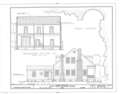 Calef House, 1614 Old Shell Road, Mobile, Mobile County, AL HABS ALA,49-MOBI,52- (sheet 4 of 4).png