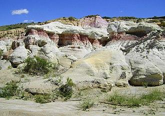 Calhan Paint Mines Archeological District - Image: Calhan Paint Mines Archeological District 04