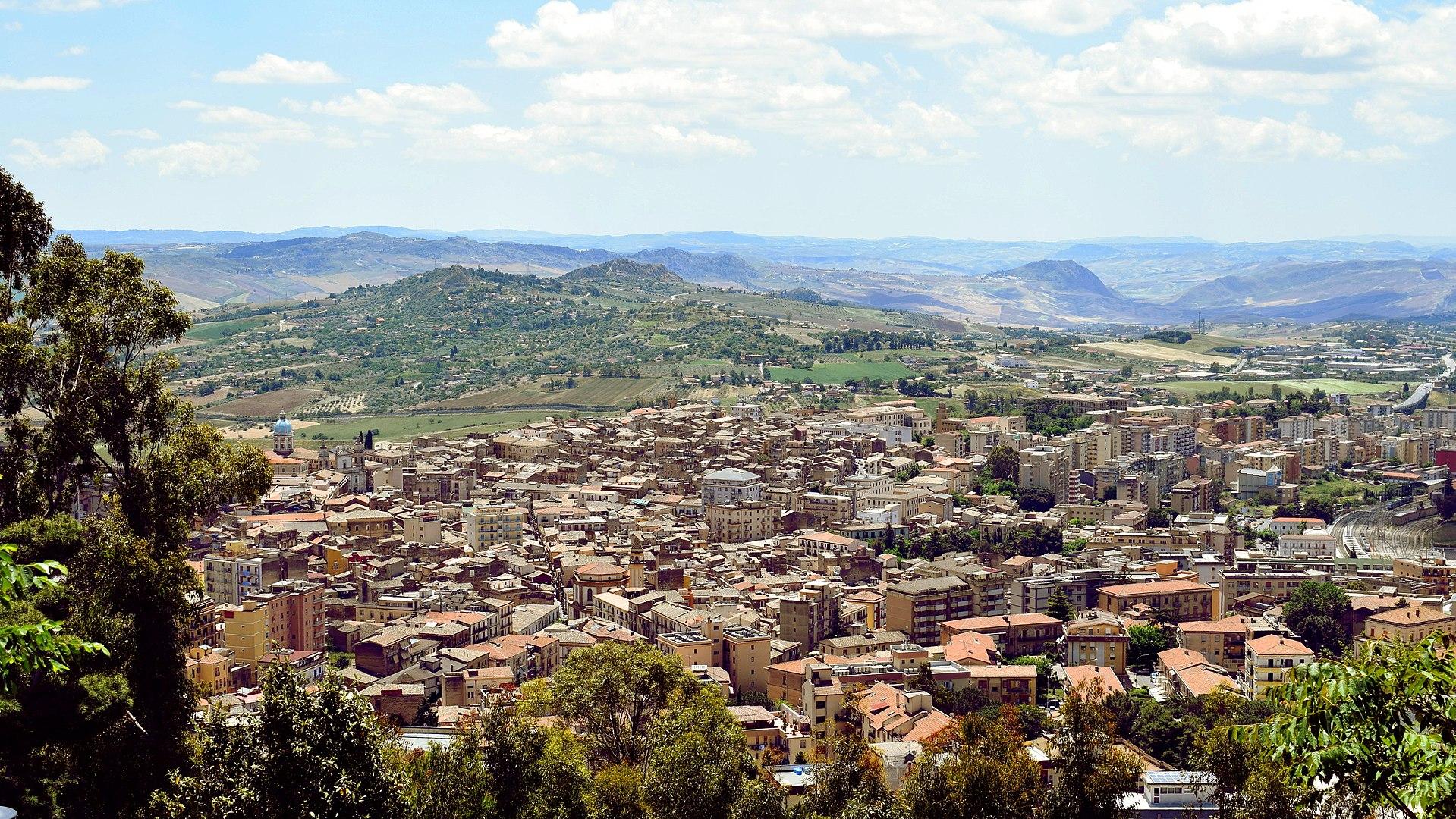 Caltanissetta – Veduta