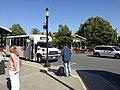 Caltrain shuttle at Mountain View train station.jpg