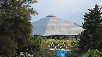 Glass Pyramid Sabancı Congress and Exhibition Center - from same angle