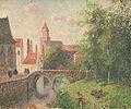 Camille Pissarro - Le Pont de la Clef à Bruges, Belgique.jpg