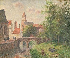 Le Pont de la Clef à Bruges, Belgique