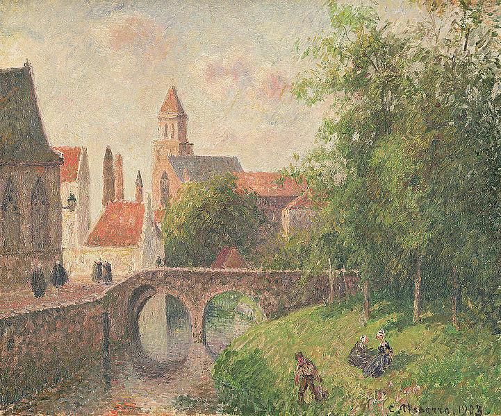 File Camille Pissarro Le Pont De La Clef 224 Bruges