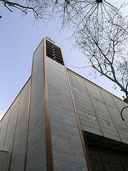 Saint fran ois de molitor wikipedia the free encyclopedia for Paroi translucide