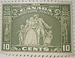 Canada 1934 United Empire Loyalist 10 Cent Stamp.jpg