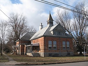 National Register of Historic Places listings in Ontario County, New York - Image: Canandaigua 023 Adelaide Avenue School