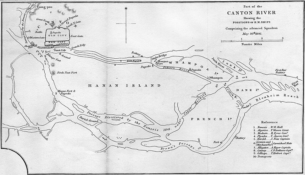 Canton River, 26 May 1841