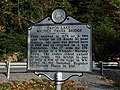 Capon Lake Whipple Truss Bridge Historical Marker Capon Lake WV 2014 10 05 03.JPG