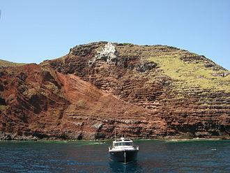 Tuscan Archipelago - Capraia has a volcanic origin
