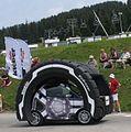 Caravan Kleber tyre car, Tour 2010 stage 9, Les Saisies.jpg