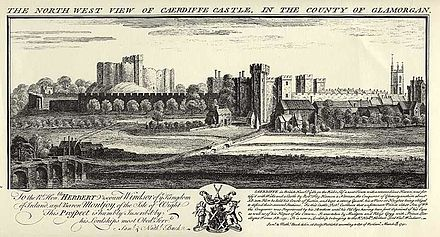 View of Caerdiffe Castle Cardiff-Castle.jpg