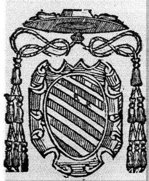 Carlo Domenico del Carretto - Coat of arms of Cardinal Carlo Domenico del Carretto