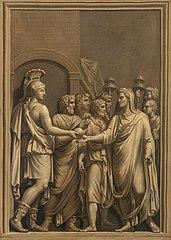 Copie d'un bas-relief romain
