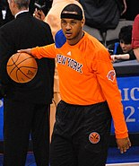 Carmelo Anthony March 2012