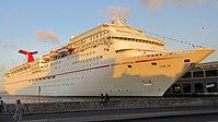Carnival Paradise docked in Havana, Cuba (cropped).jpg