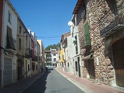 Carrer de Baix la Vila (La Pobla Tornesa).JPG