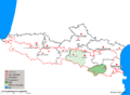 Carte des Parcs Naturels Régionaux des Pyrénées.png