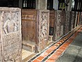 Carved Pew Ends, St. Noona Church, Altarnun. - panoramio.jpg