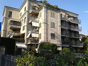 Casa Coraggio, Bordighera - Casa Coraggio, facade