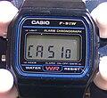 Casio F-91 Module 593 Displaying CASIo.jpg