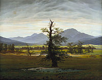 Caspar David Friedrich - Der einsame Baum - Google Art Project.jpg