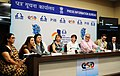 Cast and Crew of the opening film After Image interacting with the media, at the 47th International Film Festival of India (IFFI-2016), in Panaji, Goa on November 19, 2016.jpg