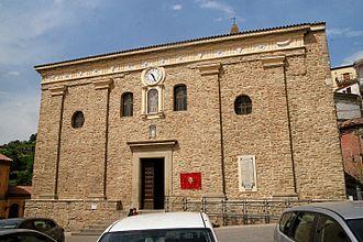 Castelmezzano - Chiesa Madre di Santa Maria dell'Olmo