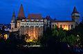 Castelul Corvinilor Hunedoara vedere nocturna.JPG