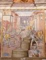 Castiglione del Lago Palazzo della Corgna - Sala Maggiore 3 Fresco Schlacht Casale Monferrato.jpg