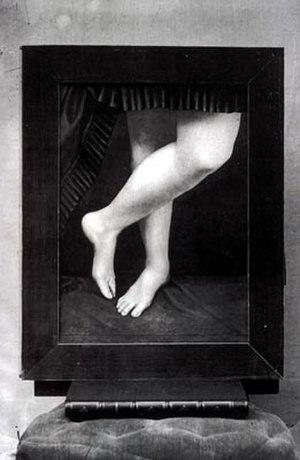 Virginia Oldoini, Countess of Castiglione - Image: Castiglione legs