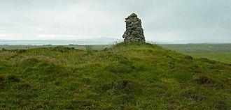 Castle Bloody - Castle Bloody souterrain - rock construction is not part of the souterrain.