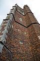 Castle Hedingham, St Nicholas' Church, Essex England - tower south buttresses.jpg