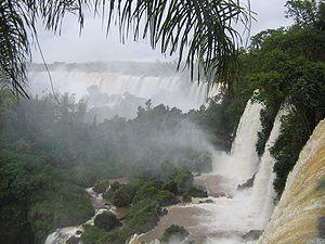 Cataratas argentinas no Rio Iguaçu