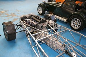 Structural mechanics - Tubular frame used in a competition car
