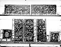 Cathédrale - Vitrail, déambulatoire au nord, saint Julien l'Hospitalier, bordures - Rouen - Médiathèque de l'architecture et du patrimoine - APMH00031358.jpg