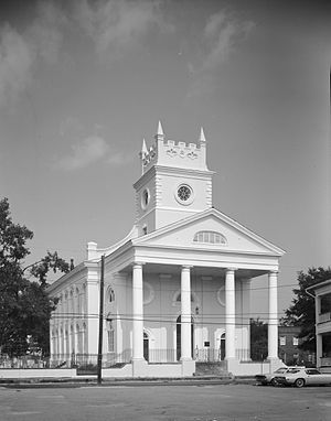 Charleston Historic District - Cathedral of St. Luke and St. Paul, 126 Coming St.