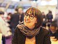 Catherine Leroux — Salon du livre de Paris - 23 mars 2014.JPG