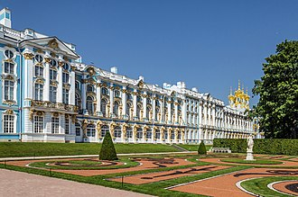 Tsarskoye Selo - Catherine Palace and Park