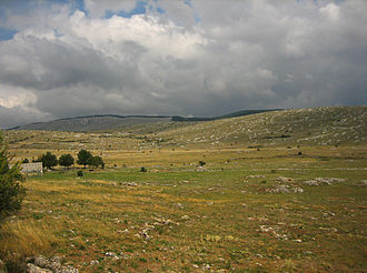 Causse Méjean - Landscape of Causse Méjean