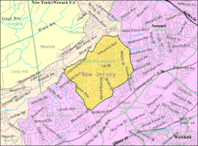 Census Bureau map of New Providence, New Jersey.png