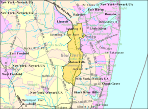 Census Bureau map of Tinton Falls, New Jersey.png