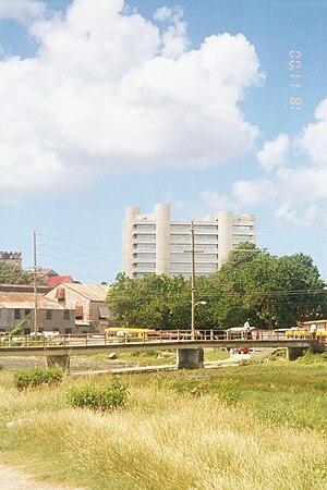 Central Bank of Barbados - The Tom Adams Financial Centre building.