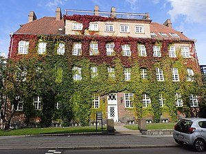 Listed buildings in Aarhus Municipality - Image: Centralværkstedernes administrationsbygni ng