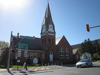 Penns Valley - St. Luke Lutheran Church in Centre Hall