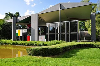 art and biographical museum dedicated to the work of Le Corbusier in Zürichhorn, Switzerland